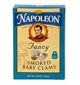 Napoleon Napoleon Clams Baby Smoked, 3.75 oz, 5 ct