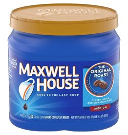 Maxwell House Maxwell House Original Roast Ground Coffee, 30.6 oz, 6 ct