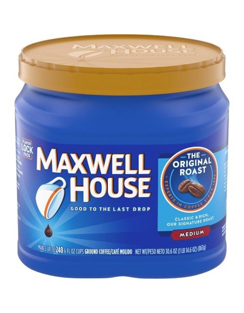 Maxwell House Maxwell House Original Roast Ground Coffee, 30.6 oz, 6 ct
