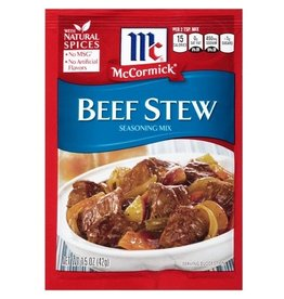 Mccormick McCormick Beef Stew Mix, 1.5 oz, 12 ct