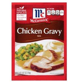 Mccormick McCormick Chicken Gravy Mix, 0.87 oz, 24 ct