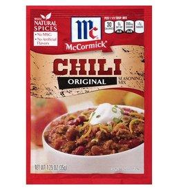 Mccormick McCormick Chili Mix, 1.25 oz, 24 ct