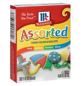 Mccormick McCormick Food Color Assortment, 1 oz, 12 ct