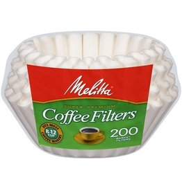 Melitta Melitta Basket Coffee Filters, 200 ct (Pack of 24)