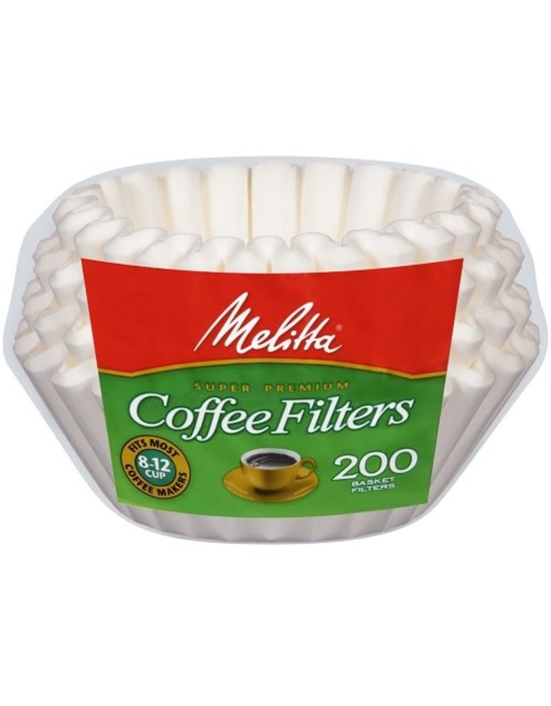 Melitta Melitta Basket Coffee Filters, 200 ct (Pack of 24)