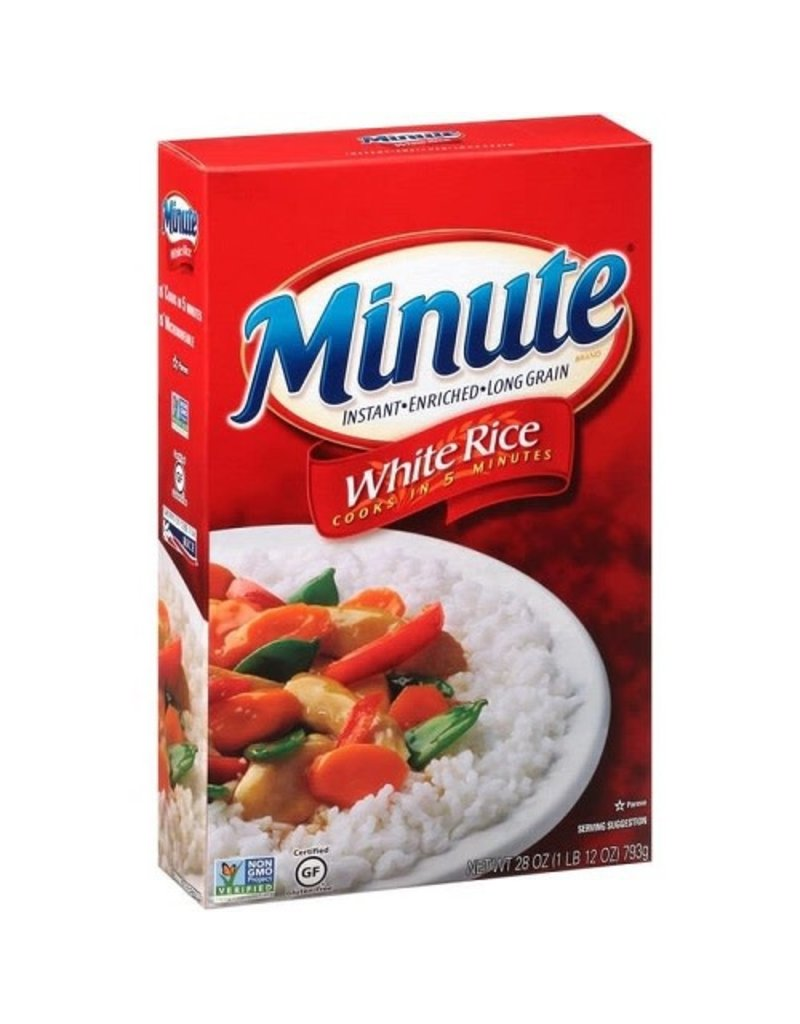 Minute Rice Minute Rice White Long Grain Instant, 28 oz