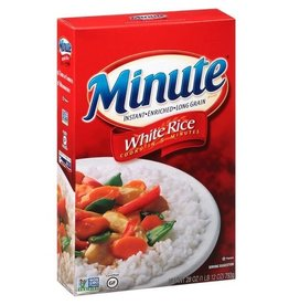 Minute Rice Minute White Long Grain Instant Rice, 28 oz, 12 ct
