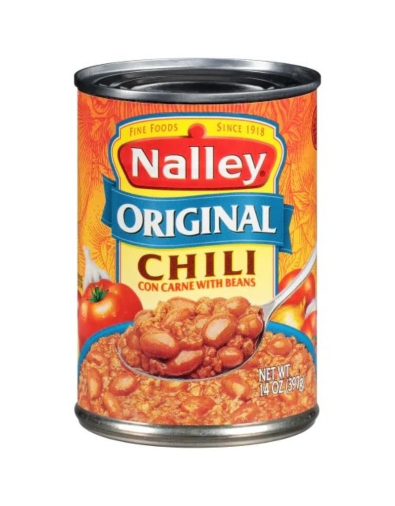 Nalley Nalley Chili with Beans Original, 14 oz