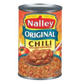 Nalley Nalley Original Chili With Beans, 40 oz, 12 ct