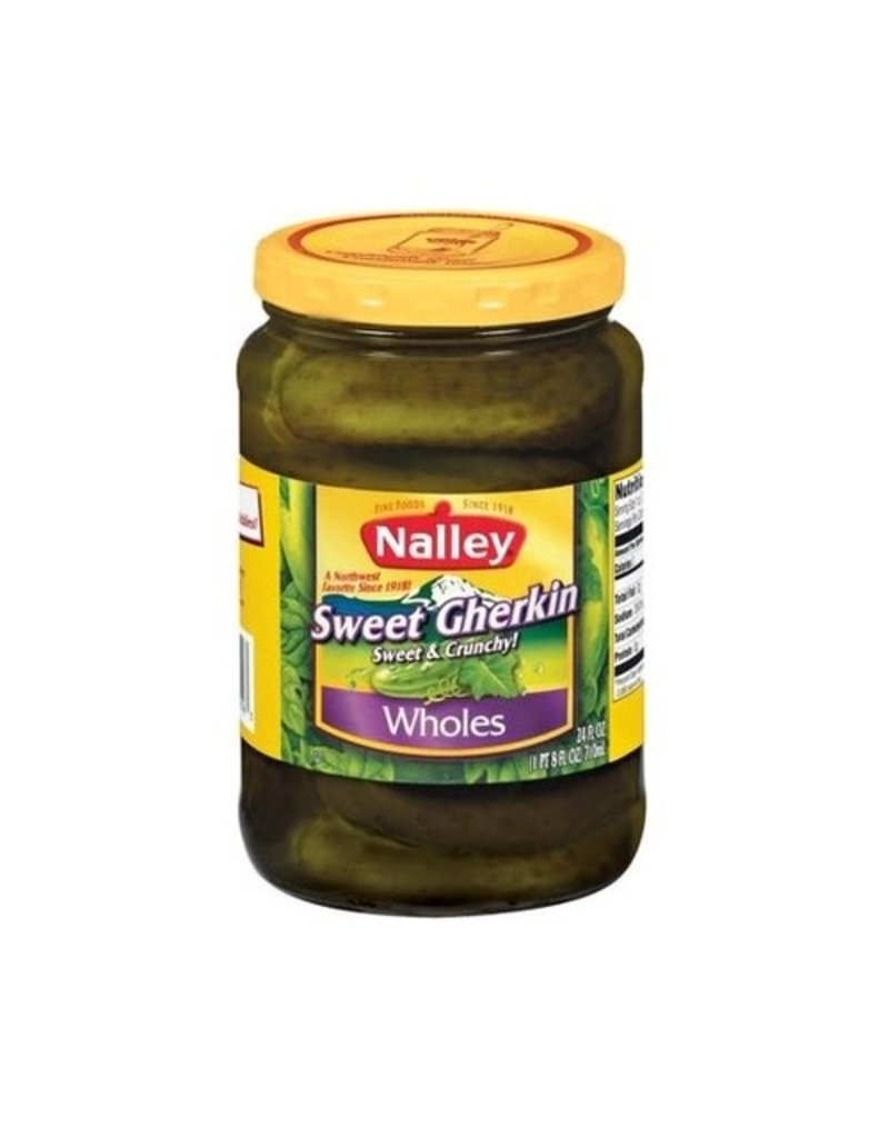 Nalley Nalley Pickles Sweet & Crnchy Whole, 24 oz
