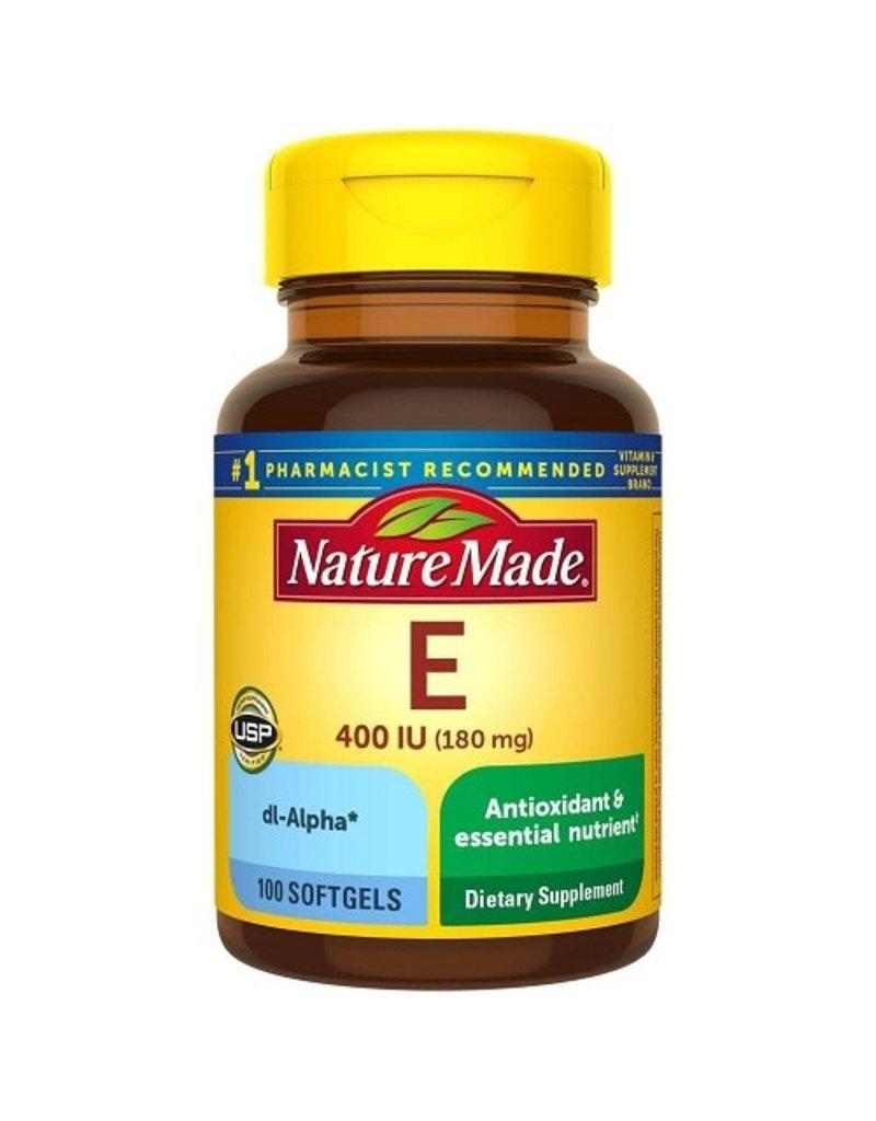 Nature Made Nature Made Vitamin E 180 mg (400 IU), 100 ct