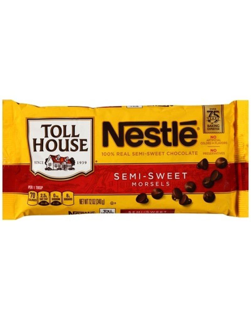 Nestle Nestle Chocolate Morsels, 12 oz, 24 ct
