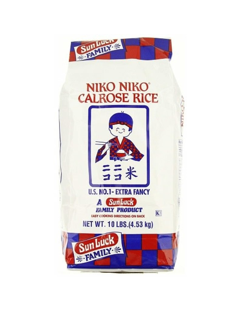 Niko Niko Niko Niko Calrose Rice, 10 lb