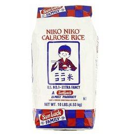 Niko Niko Niko Niko Calrose Rice, 10 lb, 4 ct