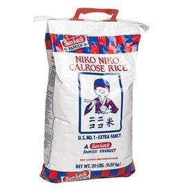 Niko Niko Niko Niko Calrose Rice, 20 lb