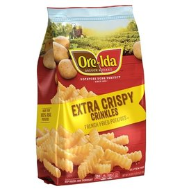 Ore-Ida Ore-Ida Extra Crispy Golden Crinkle Fries, 26 oz, 12 ct