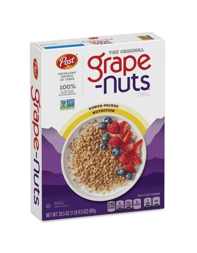 Post Post Grape Nuts Cereal, 29 oz, 10 ct