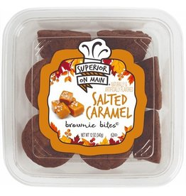 Superior On Main Superior On Main Salted Caramel Brownie Bites, 12 oz