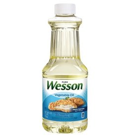 Wesson Wesson Vegetable Oil, 24 oz, 12 ct