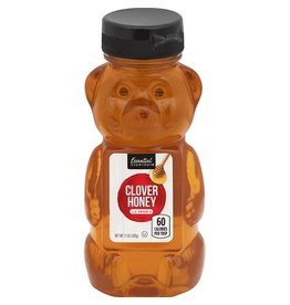 Essential Everyday EED Honey Bear, 12 oz, 12 ct