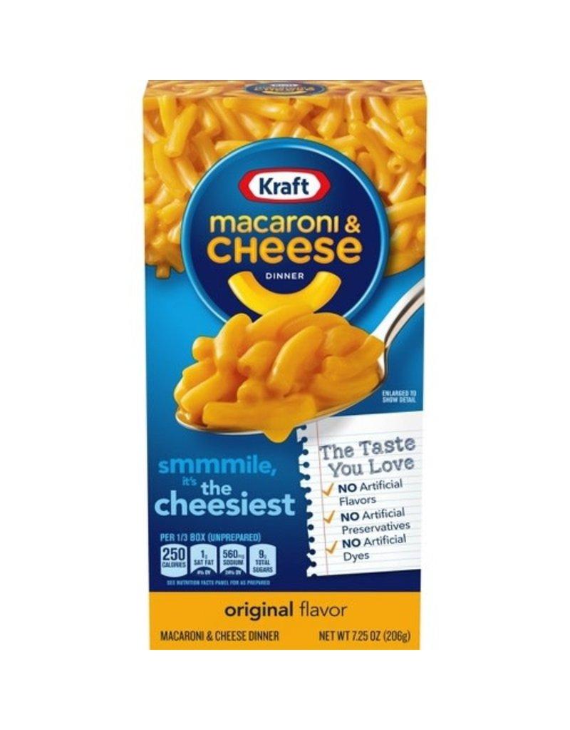 Kraft Kraft Mac & Cheese Dinner, 7.25 oz