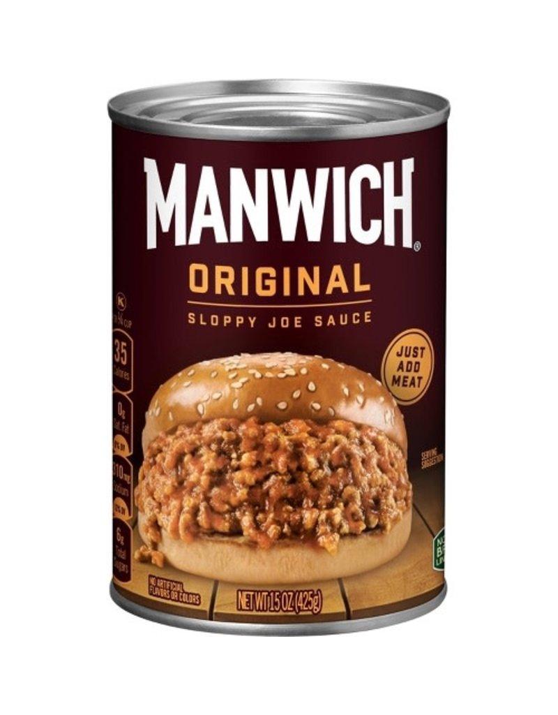 Hunt's Hunt's Manwich Original Sloppy Joe Sauce, 15.5 oz, 24