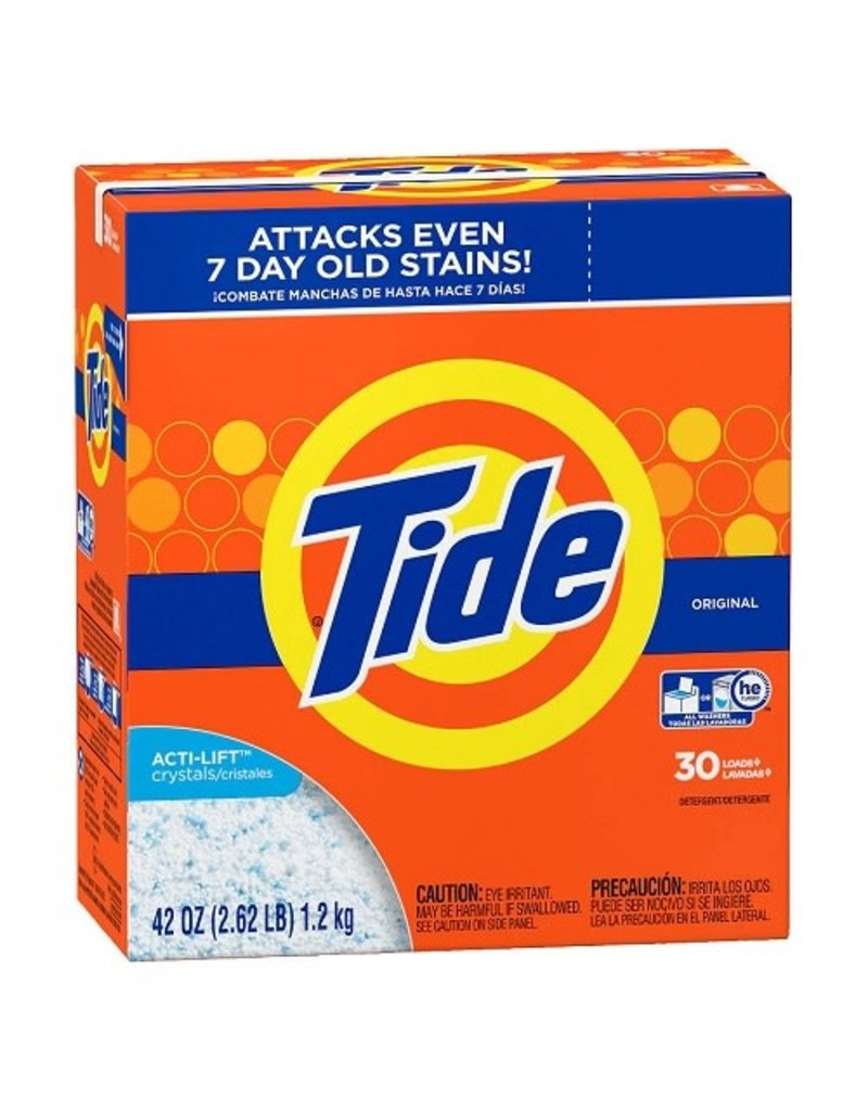 Tide Tide he Powder Original Detergent, 42 oz