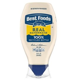 Best Foods Best Foods Mayo Real Squeeze, 20 oz, 12 ct
