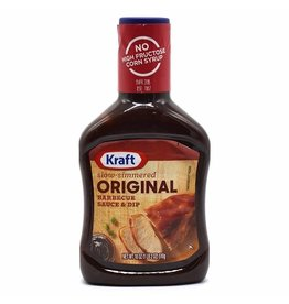 Kraft Kraft Original BBQ Sauce, 18 oz, 12 ct