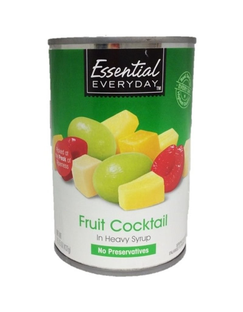 Essential Everyday EED Fruit Cocktail, 15 oz, 24 ct