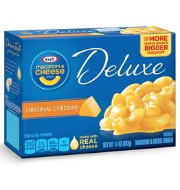 Kraft Kraft Mac & Cheese Deluxe, 14 oz, 24 ct