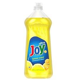 Joy Joy Ultra Lemon Scent Dishwashing Liquid Half Case, 30 oz, 5 ct