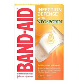 Band-Aid Band-Aid Infection Defense Extra Large, 8 ct