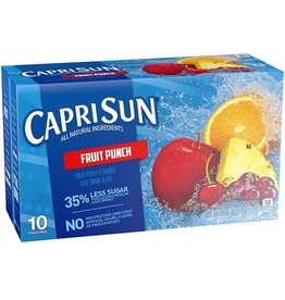 Capri Sun Capri Sun Fruit Punch, 10 ct (Pack of 4)