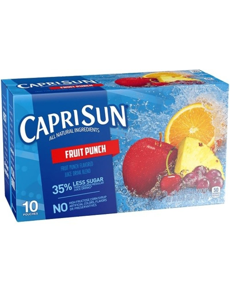 Capri Sun Capri Sun Fruit Punch, 10 ct (Pack of 4)