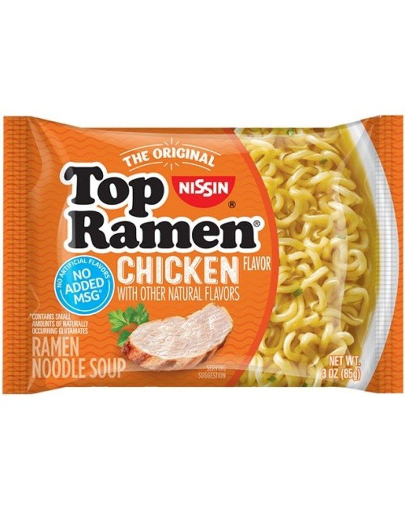 Top Ramen Nissin Top Ramen Chicken, 3 oz, 24 ct