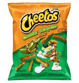 Cheetos Cheetos Crunchy Cheddar Jalapeno, 8.5 oz, 10 ct