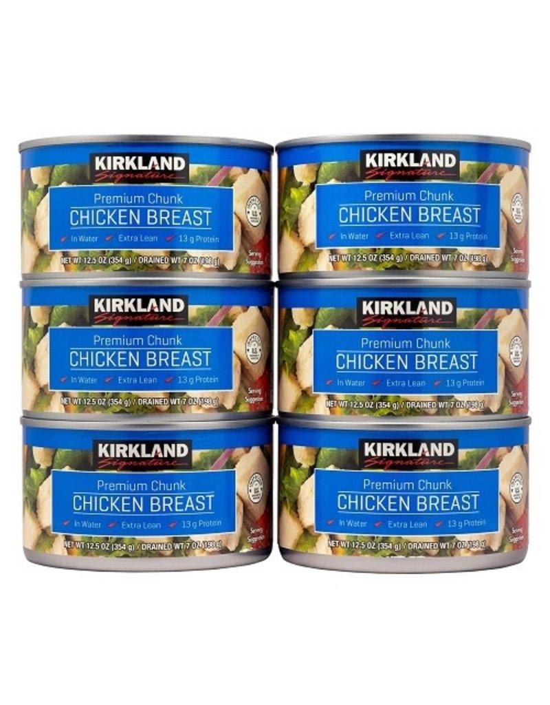 Kirkland Signature Kirkland Signature Chicken Breast Chunks Can, 12.5 oz, 6 ct