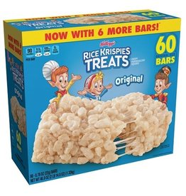 Kellogg's Kellogg's Rice Krispies Treats, 60 ct