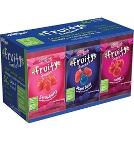 Kellogg's Kellogg's Fruity Snack Variety Pack, 2.5 oz, 36 ct