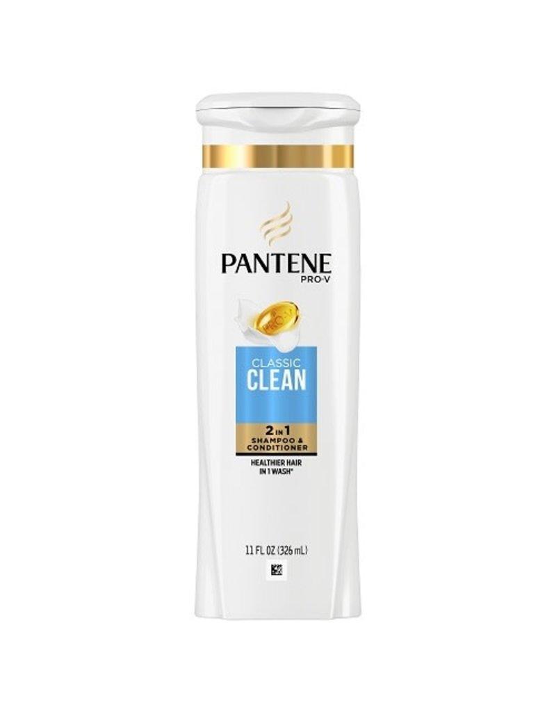 Pantene Pantene 2-In-1 Classic Clean Shampoo + Conditioner, 12.6 oz, 6 ct