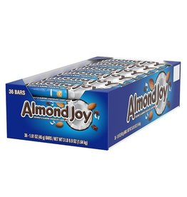 Almond Joy Almond Joy Candy Bar, 1.61 oz, 36 ct