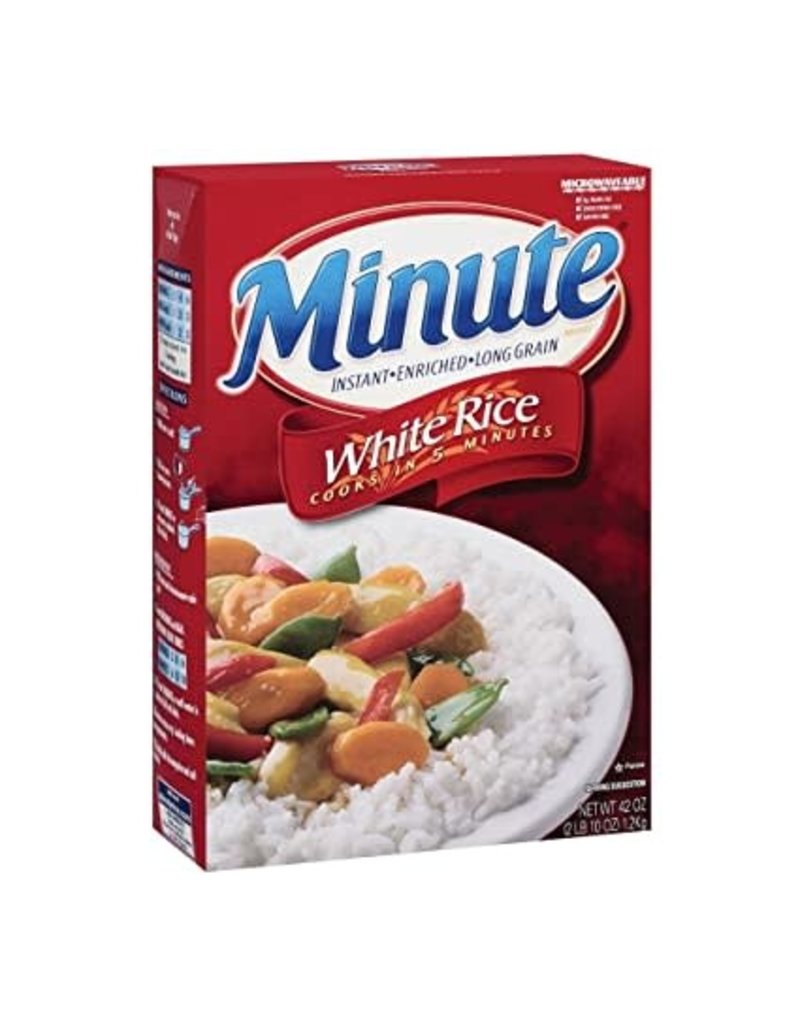 Minute Rice Minute Rice White Long Grain Instant, 42 oz, 6 ct