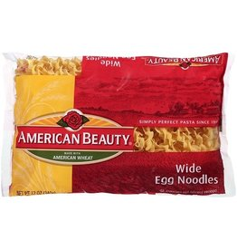 American Beauty American Beauty Noodles Egg Wide, 12 oz, 12 ct