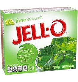 Jell-O Jell-O Lime Gelatin, 6 oz, 24 ct