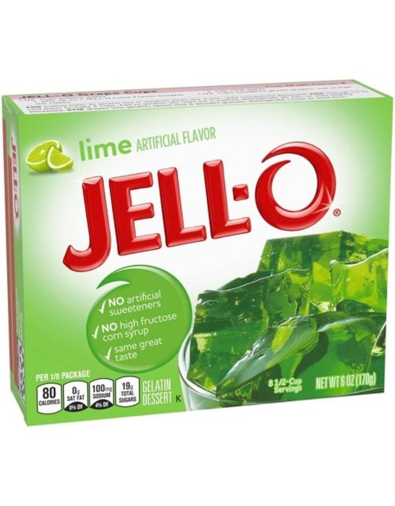 Jell-O Jell-O Lime Gelatin, 6 oz
