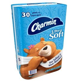 Charmin Charmin Ultra Soft Jumbo Roll Blue, 30 ct