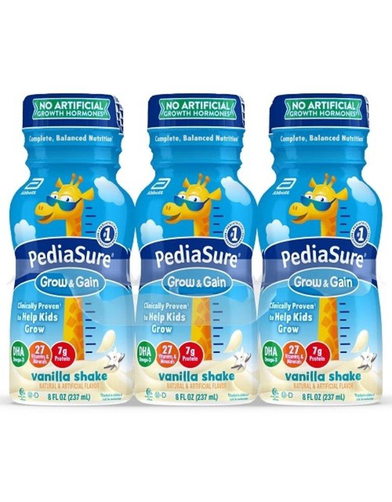 PediaSure PediaSure Grow & Gain Vanilla Protein Shake,  8 oz, 6 ct
