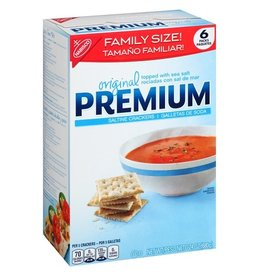 Premium Premium Saltine Crackers, 24 oz, 6 ct