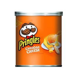Pringles Pringles Cheddar Cheese, 1.41 oz, 12 ct